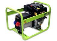 Дизельный генератор Pramac E4500 3 фазы